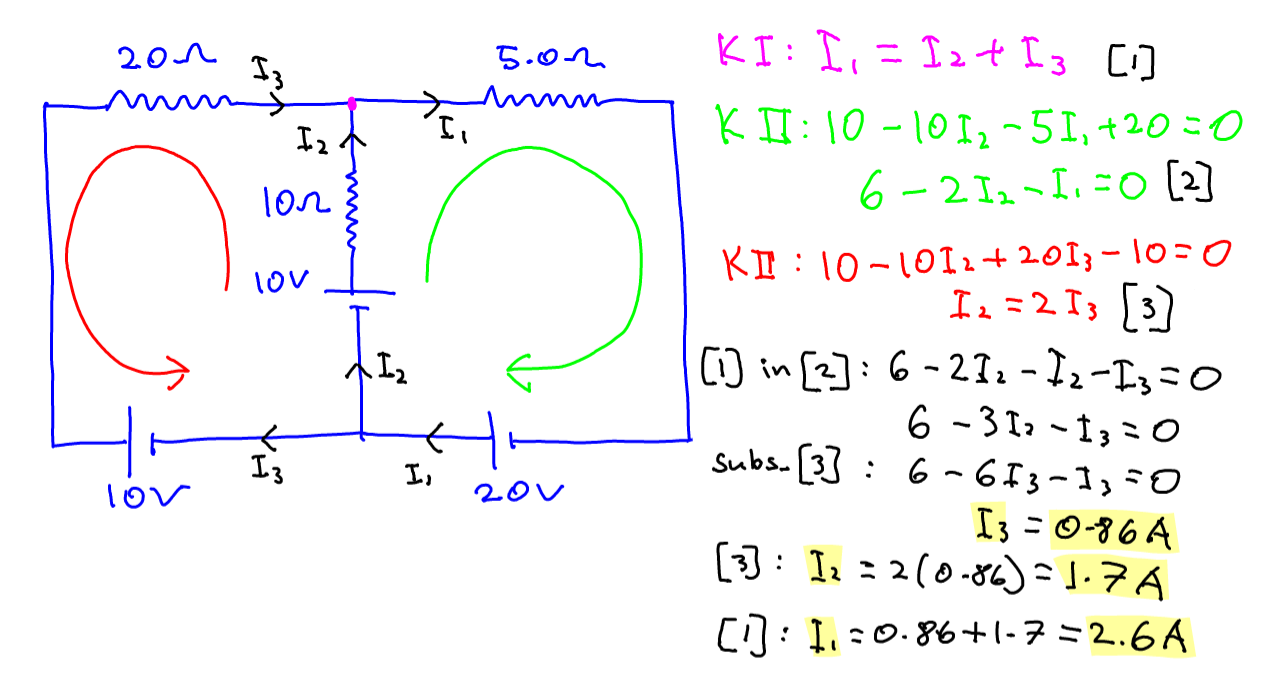 Circuit 5 Series Parallel Finding Current In Free Wiring Diagram For You Kirchhoff Ina Biography Calculation